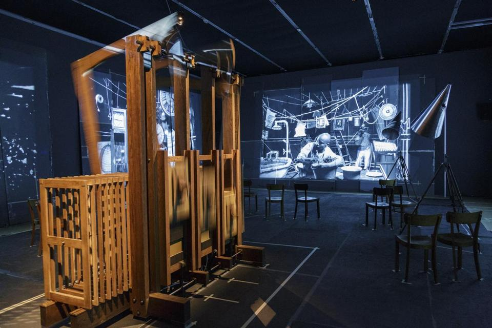 "William Kentridge's ""The Refusal of Time"" (above and below) is a collaboration with Philip Miller, Catherine Meyburgh, and Peter Galison that features mysterious moving images and a kinetic sculpture."