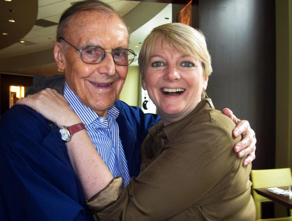Richard Bull and Alison Arngrim in Chicago in 2011. The two actors remained close after the television show ended.