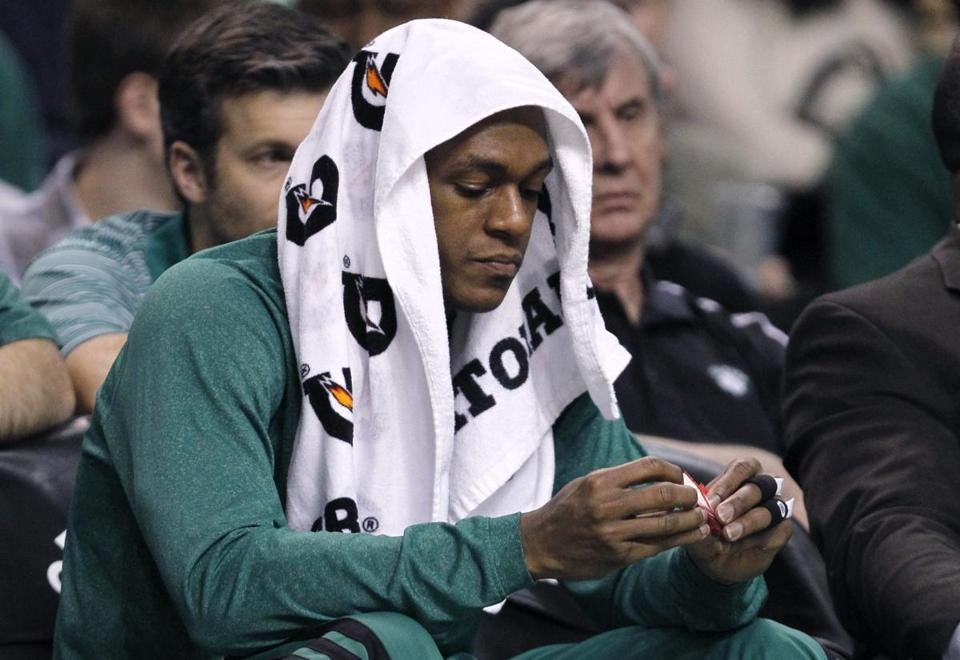 Rajon Rondo has been forced to take it slow in his return from knee surgery, as the team is limiting his minutes to about 30 each game.