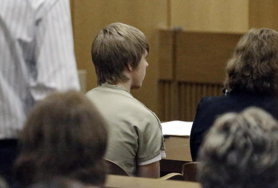Ethan Couch at a juvenile court hearing Wednesday.