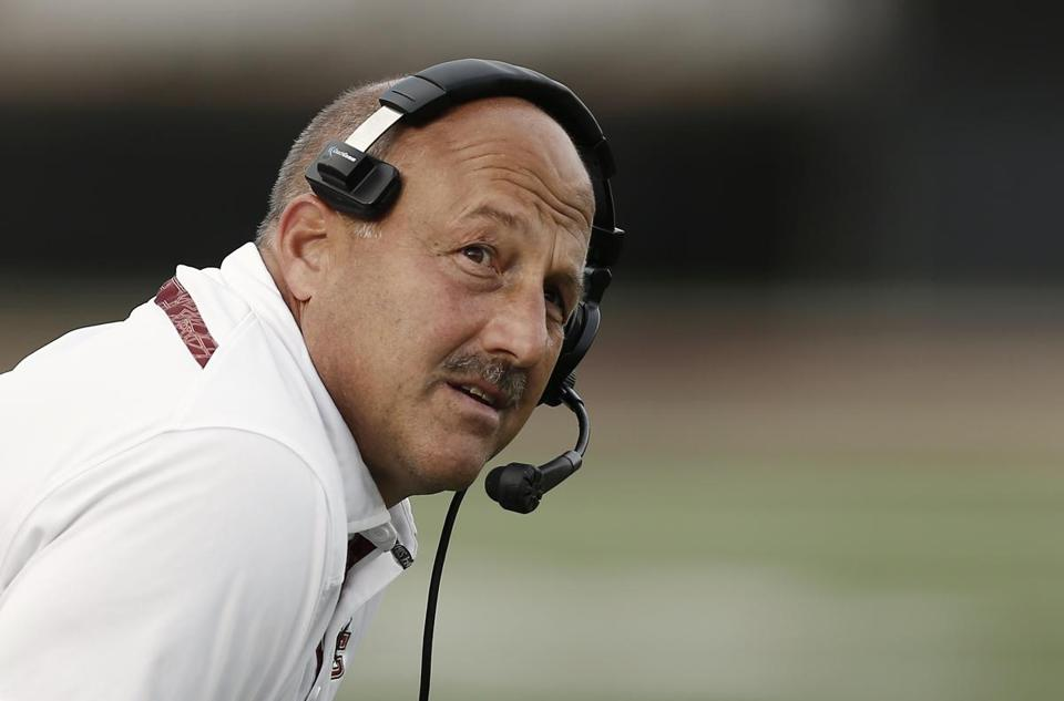 Steve Addazio (above) now has University of Florida transfer Tyler Murphy to compete for the starting QB job.