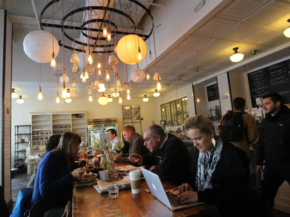 In Cambridge, Tatte opened three cafes almost all at once