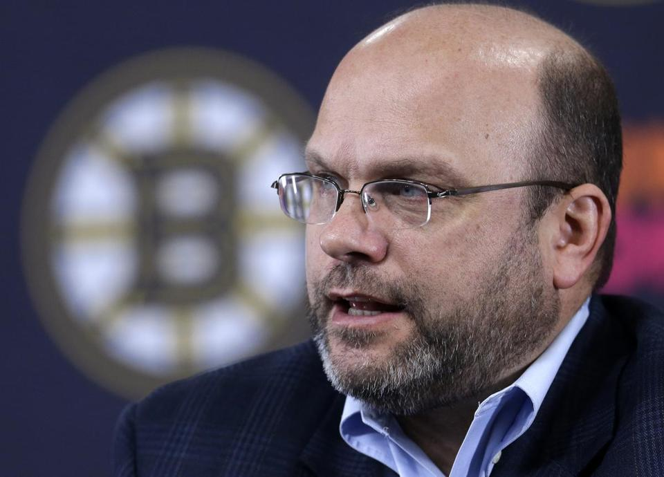 "Bruins general manager Peter Chiarelli wants to pick up some reinforcements for the back end, but admits, ""there's really not that many players available."""