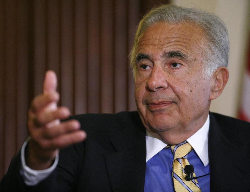 Investor Carl Icahn had been trying to drum up support for a nonbinding proposal urging Apple Inc. to spend at least $50 billion buying back its shares during this fiscal year.