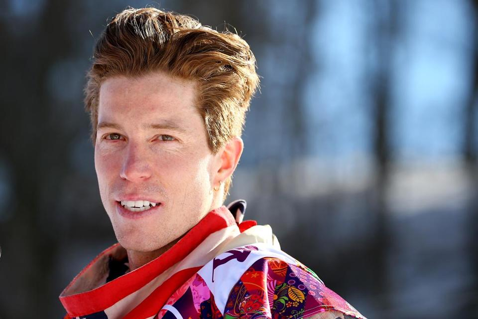 """Halfpipe carries a bit more weight because it's a defending situation,"" snowboarder Shaun White said in a press conference."