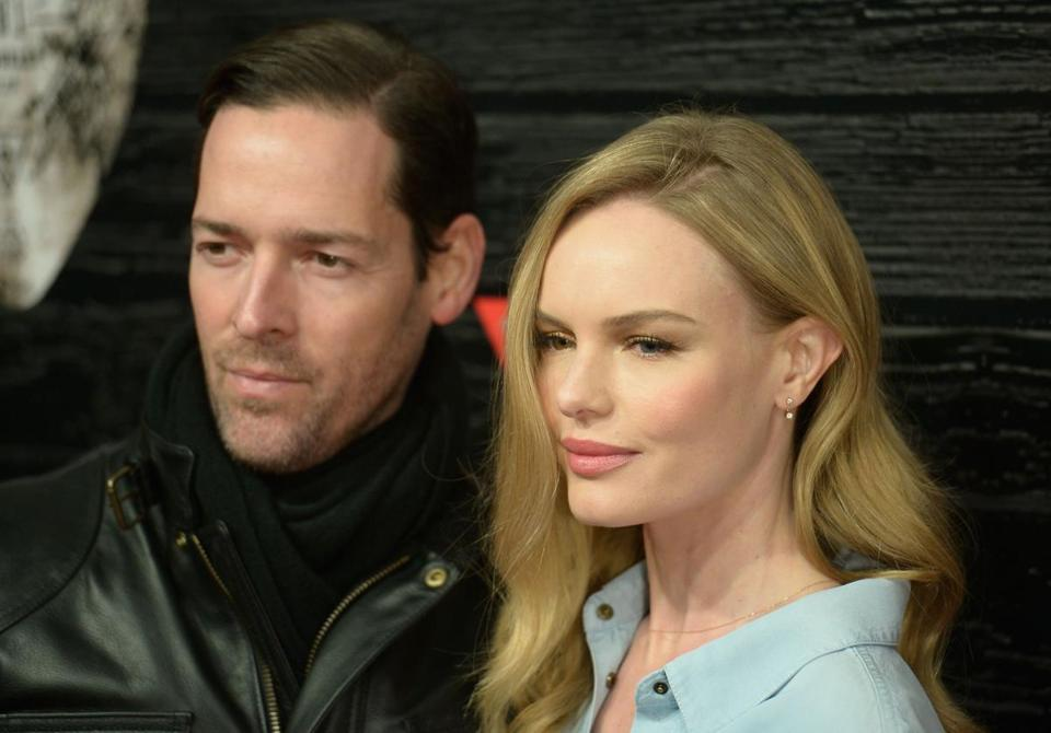 NEW YORK, NY - FEBRUARY 11: Actors Michael Polish and Kate Bosworth attend GUESS Celebrates New York Fashion Week: On the Road to Nashville at Center 548 on February 11, 2014 in New York City. (Photo by Gustavo Caballero/Getty Images for GUESS)