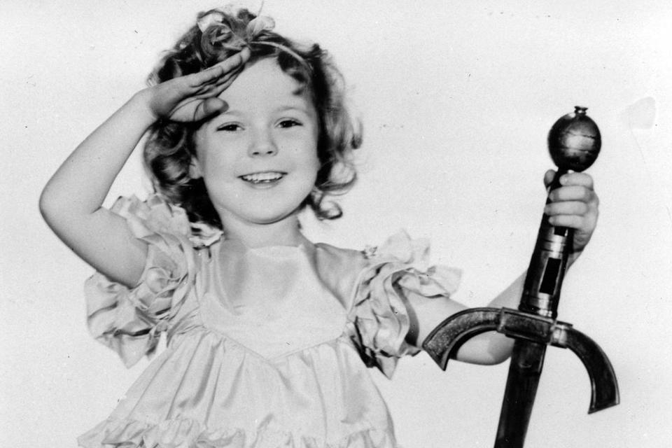 From 1935 to 1939 Shirley Temple was the most popular movie star, with Clark Gable a distant second.