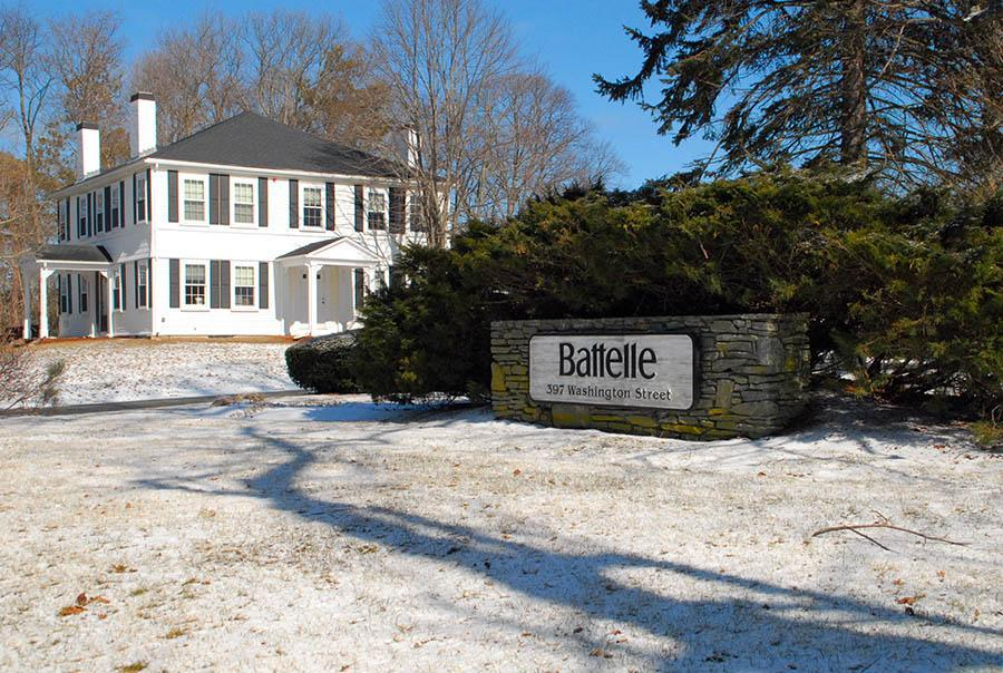 The new owners of the property in Duxbury formerly owned and occupied by the Battelle Institute are hoping to rent out some of their office space.