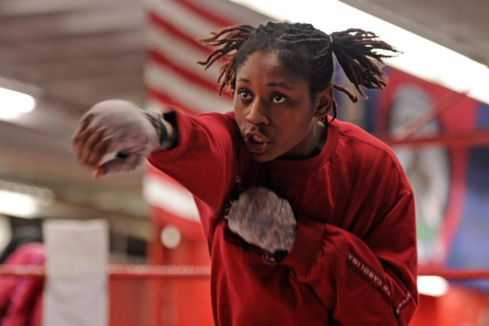 Rashida Ellis diligently trains at the Somerville Boxing Club in hopes of making the 2016 Rio de Janeiro Olympics.