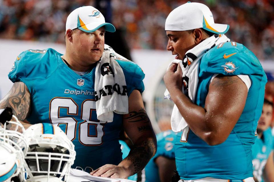 The Ted Wells report was a NFL-ordered investigation into the happenings between Miami teammates Richie Incognito (left) and Jonathan Martin.