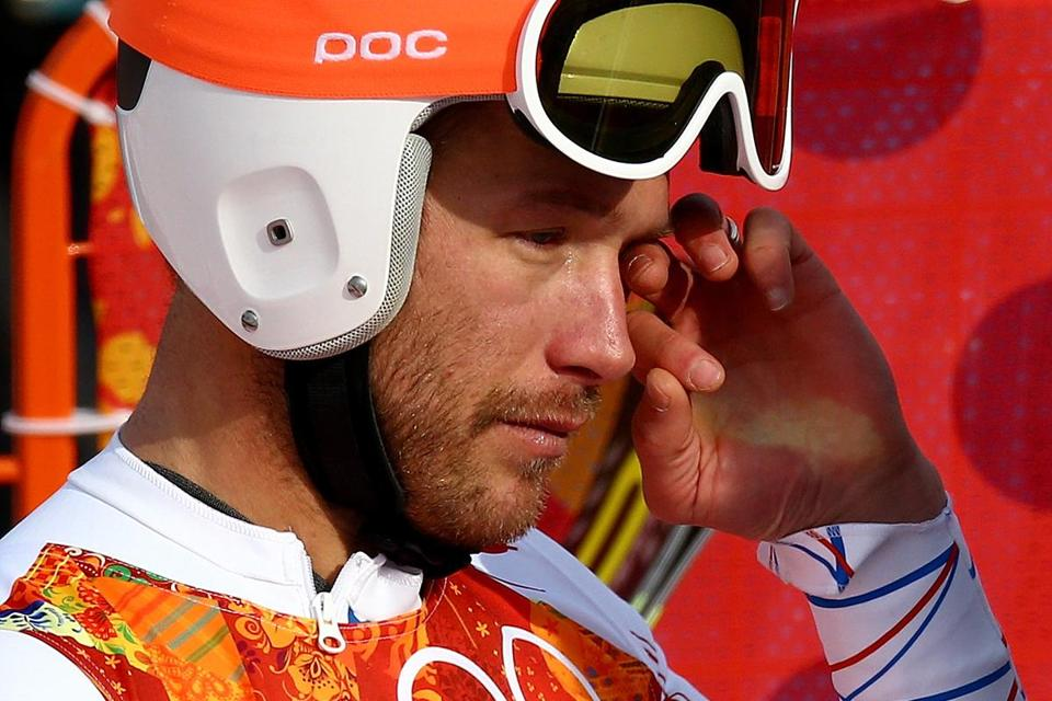 Following a trying year, an emotional Bode Miller on Sunday became the oldest Alpine medalist in Olympic history.