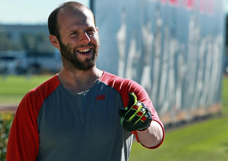 "Dustin Pedroia is coming off thumb surgery and ""everything's great."""