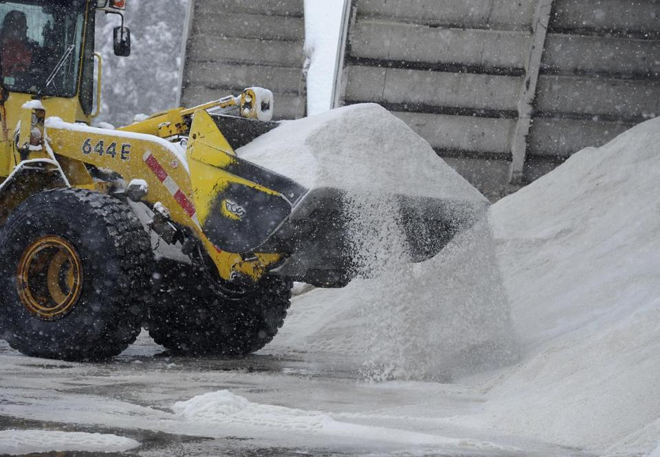 The state and the city of Boston have fared well, but other cities and towns face a salt shortage.
