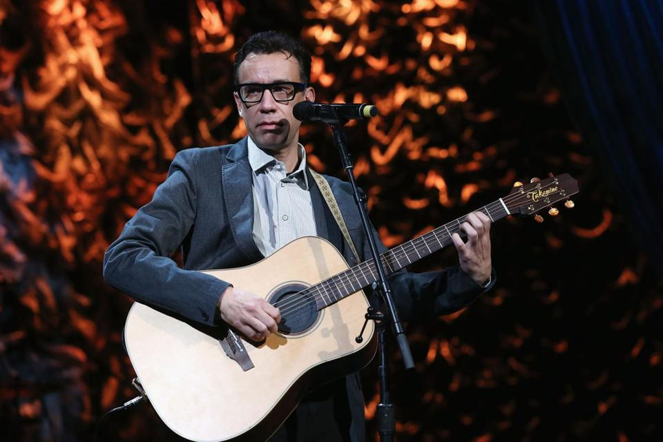 "Armisen will lead the ""Late Night With Seth Meyers"" band when his ""Portlandia"" duties allow."