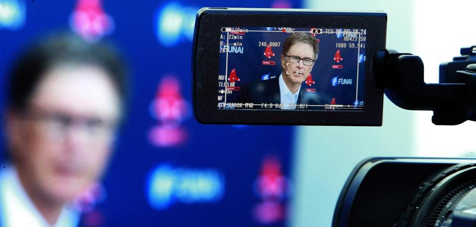 John Henry tried to bring the state of the Red Sox into focus at his annual sitdown with the media in Fort Myers.