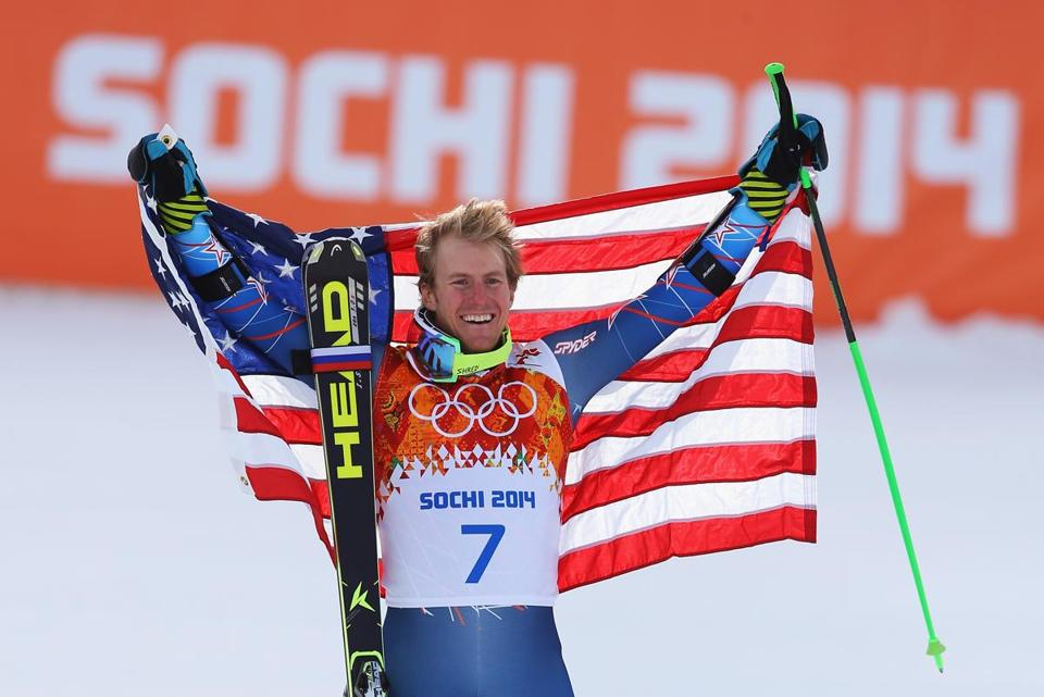 Ted Ligety became the first American man to win two Olympic gold medals in Alpine skiing.