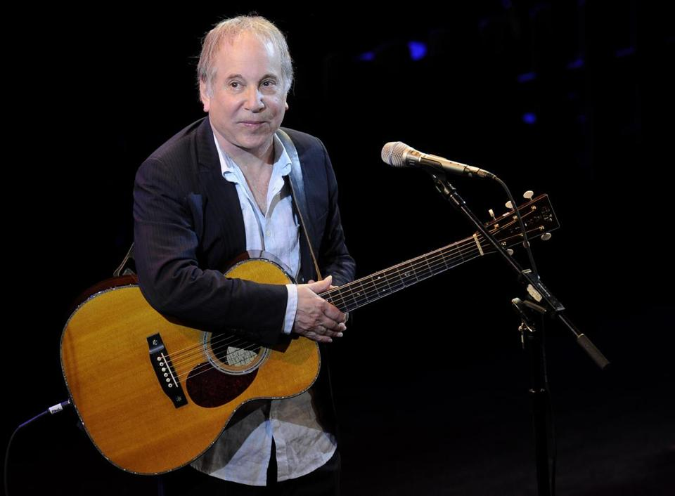 Singer Paul Simon performed at Avery Fisher Hall in New York in 2012.