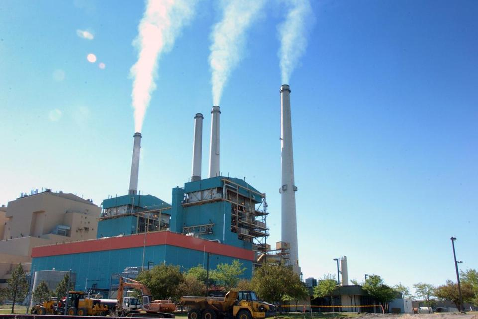Emissions rise from the Colstrip Steam Electric Station, a coal-burning power plant in Montana that may be required to reduce its emissions.
