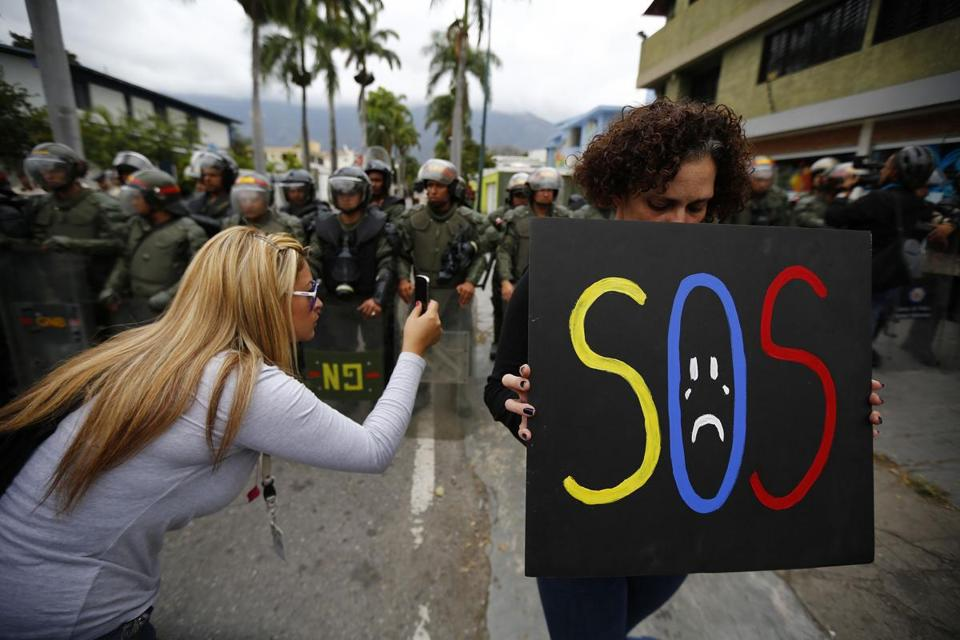 Anti-government protests in Venezuela have led to at least 16 deaths, the worst unrest in the country for a decade.