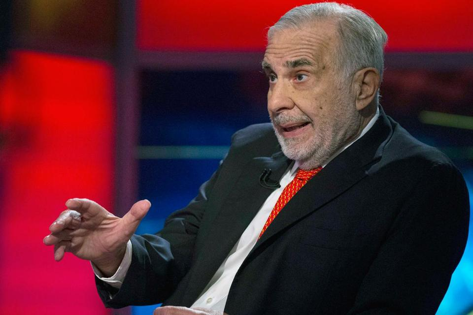 Carl Icahn said that ''complete disregard for accountability at eBay is the most blatant we have ever seen.'' Icahn, who owns about 1 percent of the company's stock, is campaigning to put allies on eBay's board and make fast-growing PayPal a separate operation.