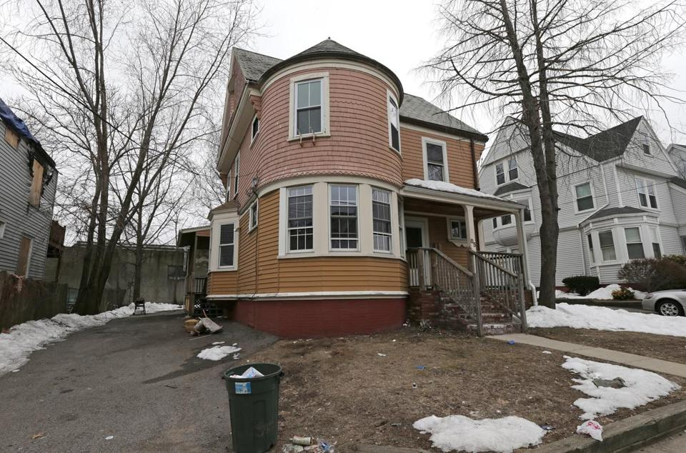 The house at 85 Linden St. in Allston, where two unruly parties landed four Boston University students in Nashua Street Jail. Police said they found more than 1,000 cans of beer when they checked out noise complaints at the residence.