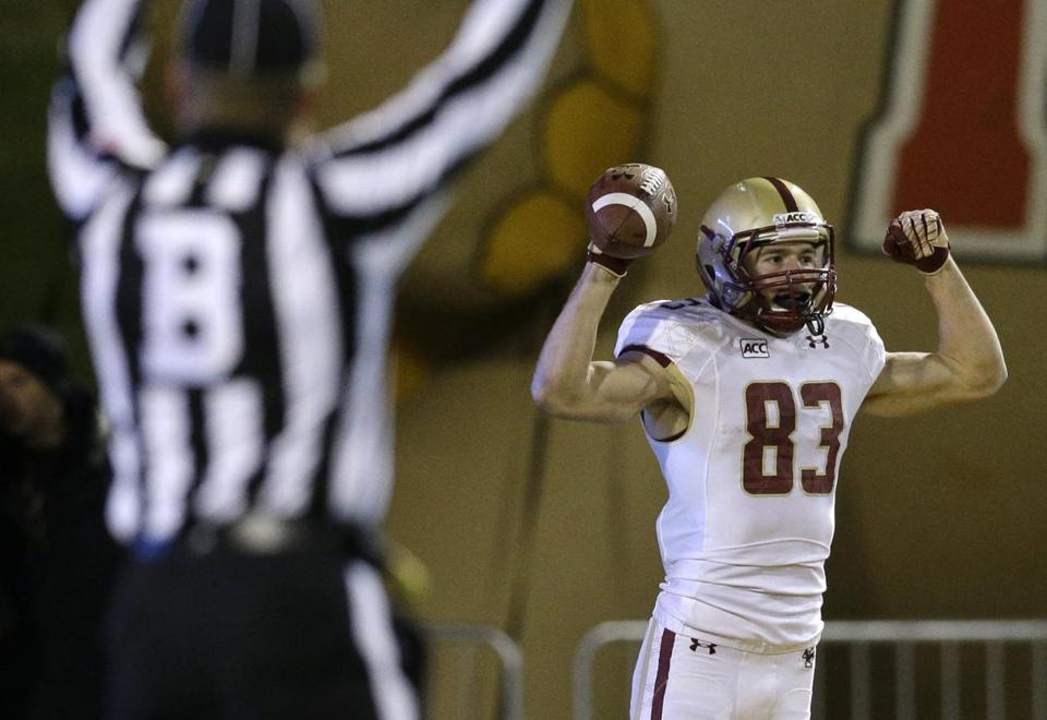 Alex Amidon led BC with 1,024 receiving yards last year.