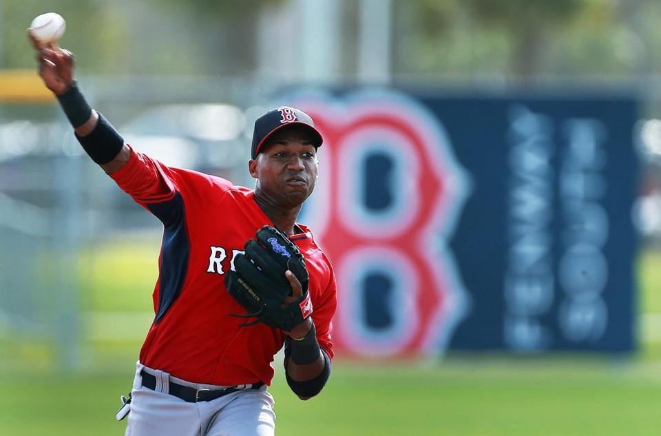 Jonathan Herrera offers little power to the Red Sox, but is able to play three positions.