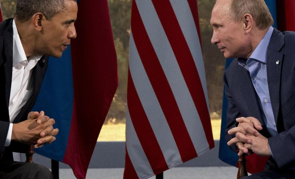 President Obama and Russian President Vladimir Putin disagree greatly on the situation in Ukraine.