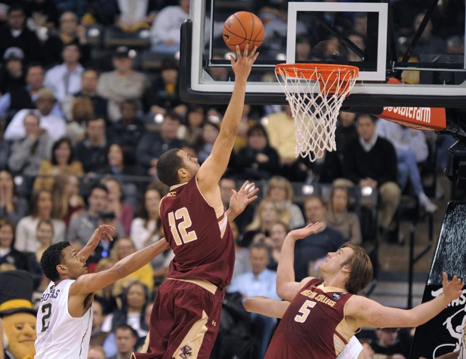 Taking his game above the rim, Ryan Anderson scored a game-high 24 points for BC and also pulled down seven boards.