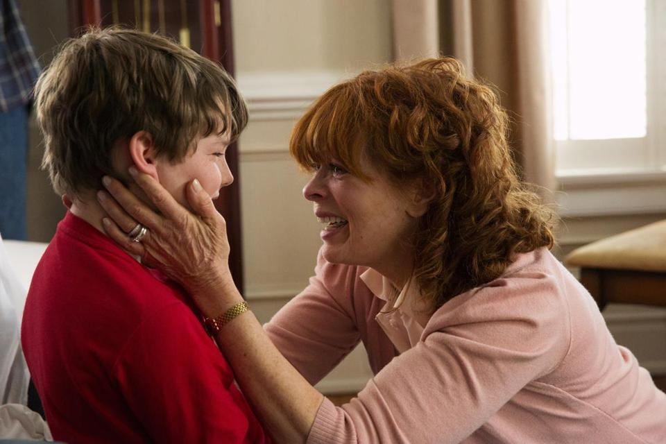 "Landon Gimenez and Frances Fisher in ""Resurrection,"" a series about a boy who returns to his family 32 years after drowning,"