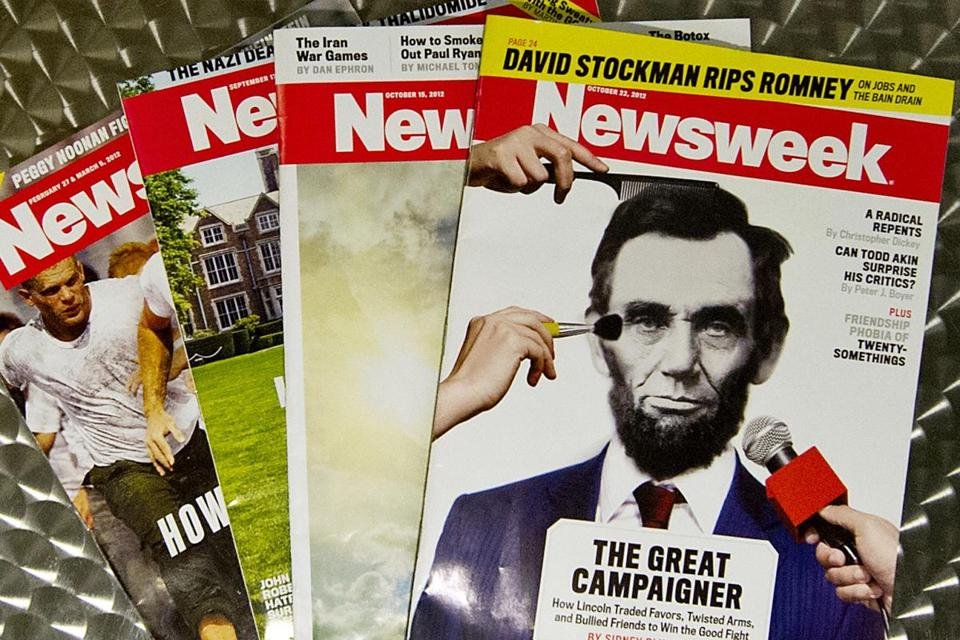 IBT Media plans to print 70,000 copies of Newsweek and sell them for $7.99 each. They are due on newstands Friday.