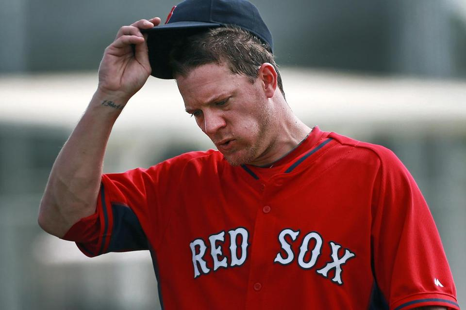 Manager John Farrell said Jake Peavy's timetable to start the season may not be affected if he gets back on his throwing program soon.