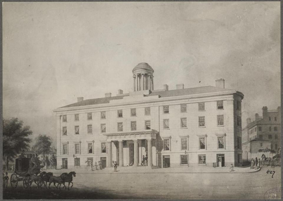 Boston's Temont House opened in 1829 at the corner of Tremont and Beacon streets, and is generally recognized as the first modern hotel, the precursor to its grander descendants.