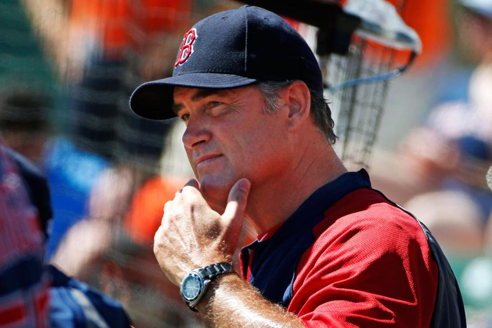 Red Sox manager John Farrell expects a better result once the team is able to get its regular lineup and pitching staff out there on a consistent basis.