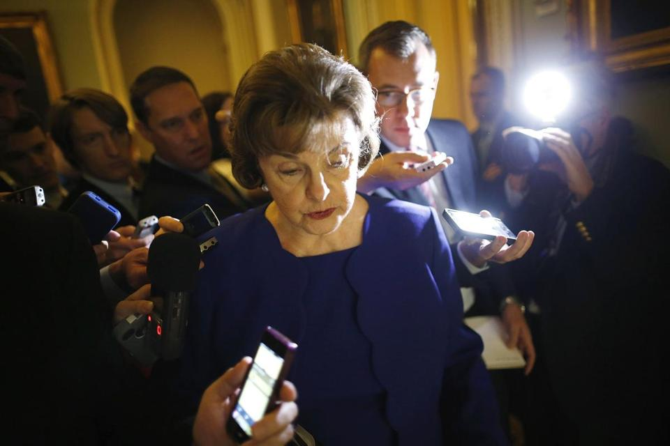 On the Senate floor Tuesday, Dianne Feinstein said the CIA has withheld details about its detention program.