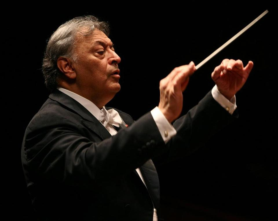 Zubin Mehta led the Israel Philharmonic in Bruckner's Eighth Symphony on Wednesday.