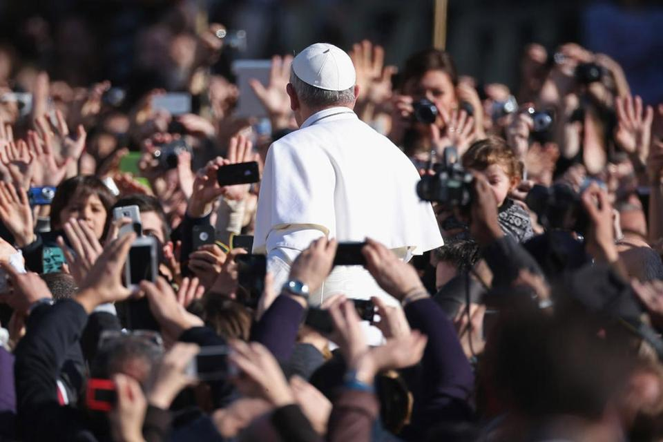 Pope Francis was hailed by an estimated 1 million people during his Inauguration Mass in March 2013.