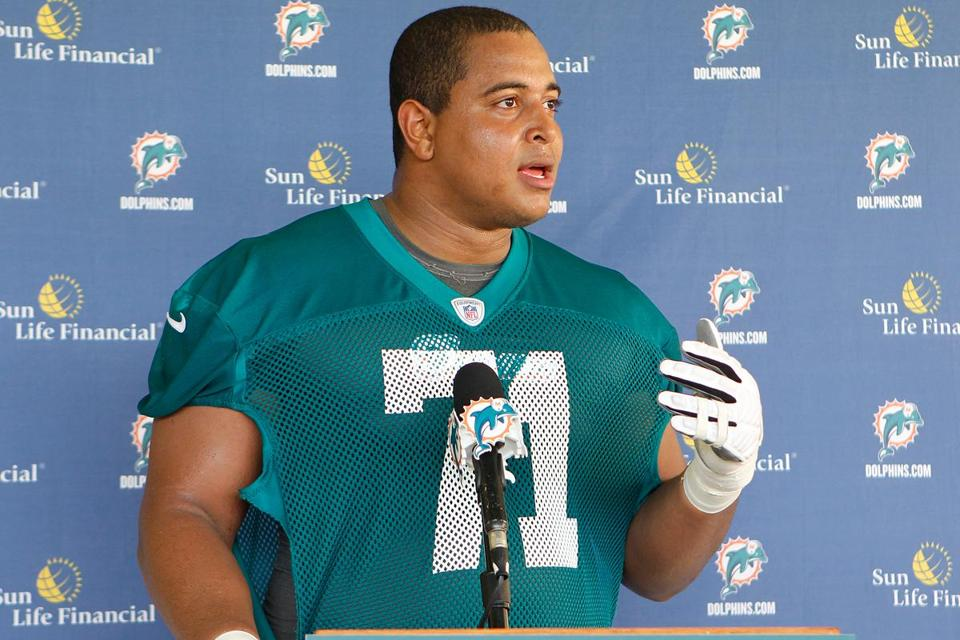 Jonathan Martin was traded from Miami to the San Francisco 49ers on Tuesday night.
