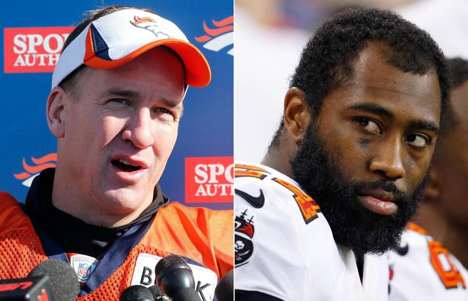 Darrelle Revis, right, will have to focus on limiting Peyton Manning and the Broncos next season.