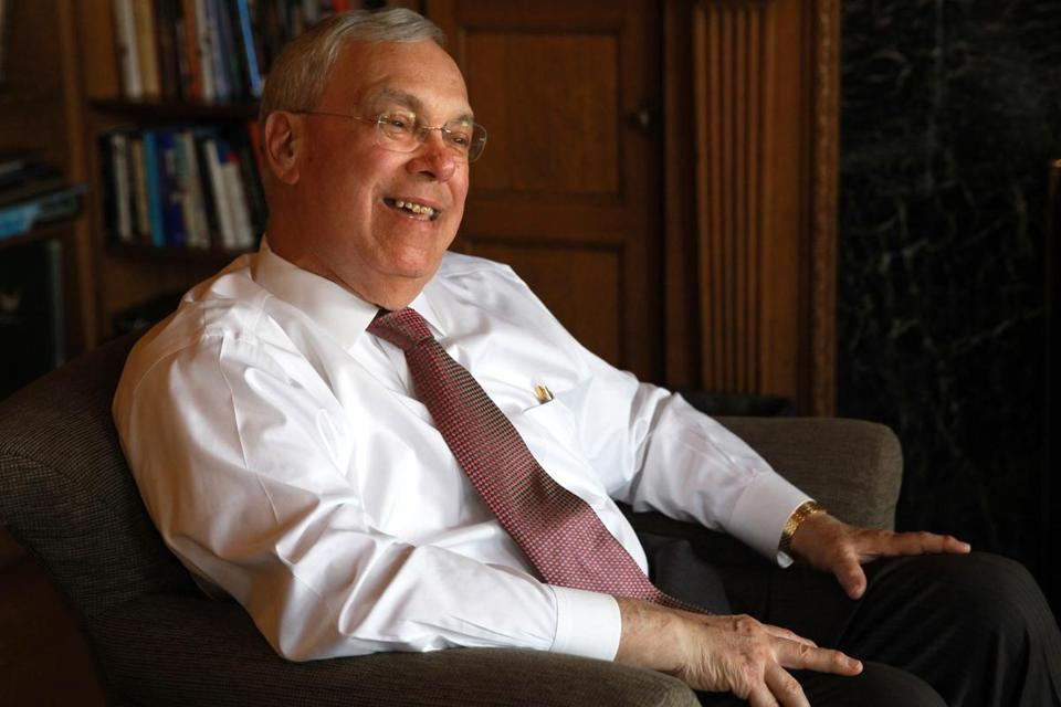 Thomas M. Menino began an intravenous chemotherapy regimen early this month.
