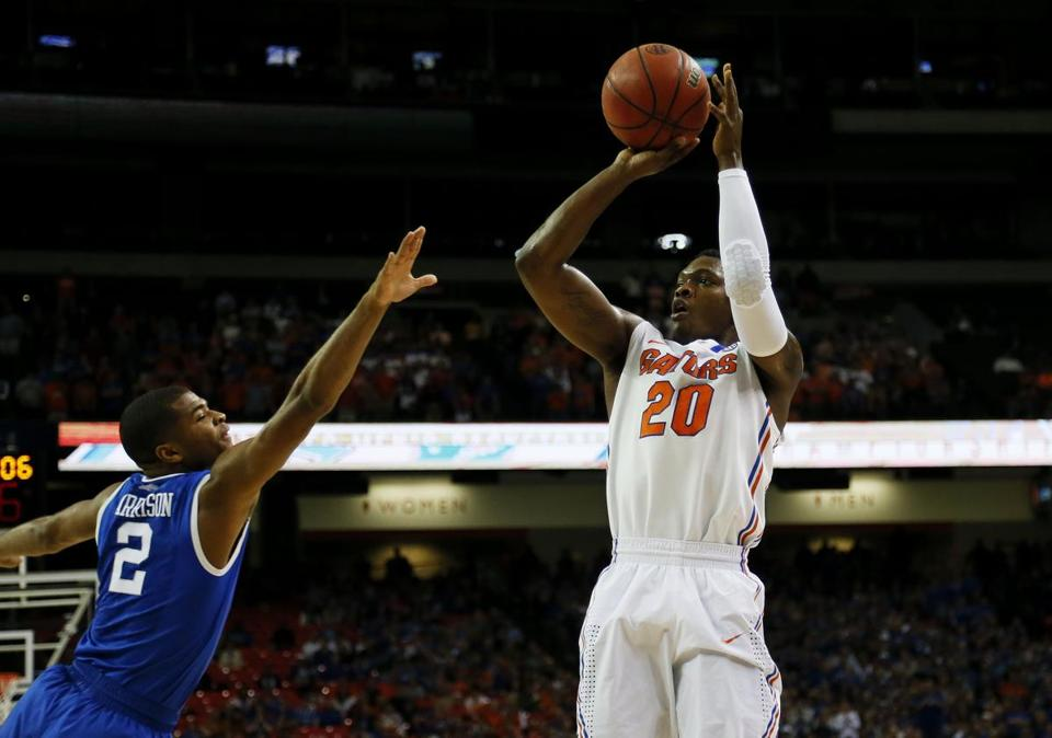Michael Frazier II  and the Florida Gators defeated the Kentucky Wildcats to win the SEC Tournament on Sunday.