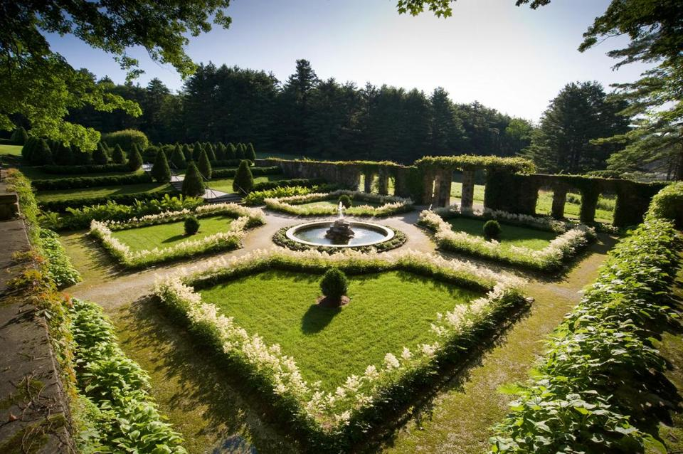 The Italian Garden is one of the highlights of The Mount in Lenox.