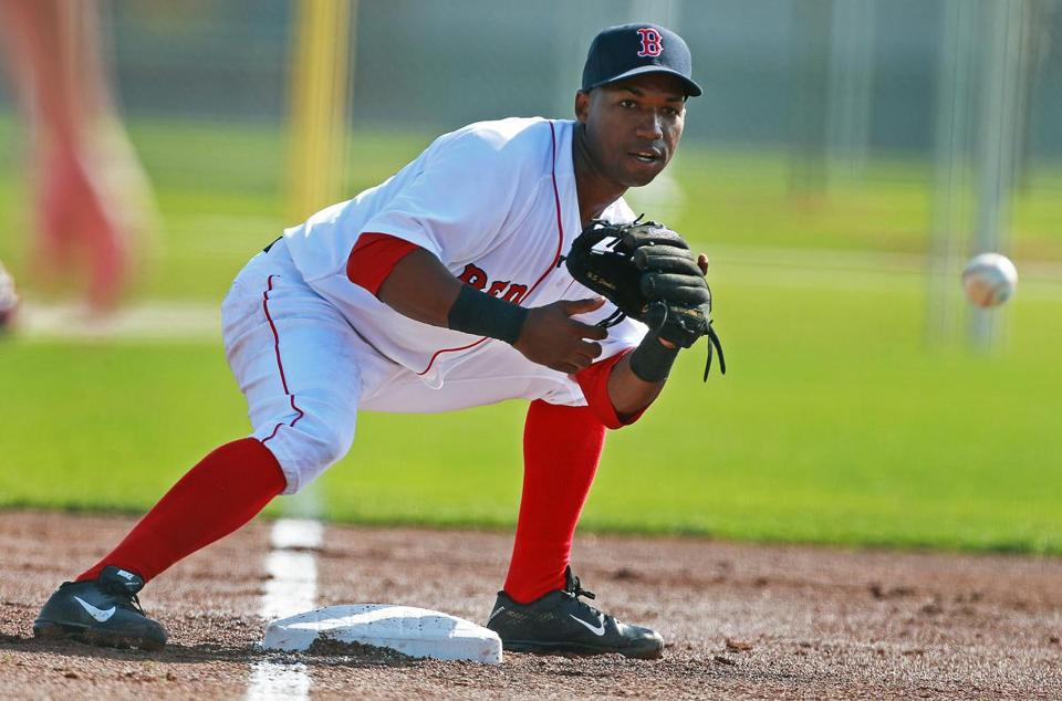 Jonathan Herrera is a utility infielder for the Red Sox.
