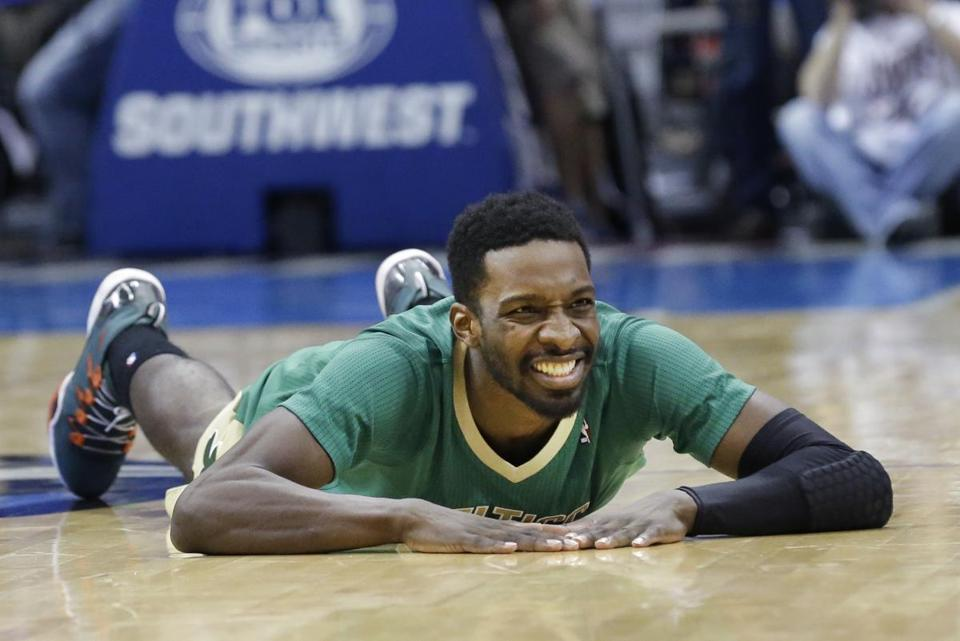Jeff Green's disappointment was apparent after a turnover on Monday.