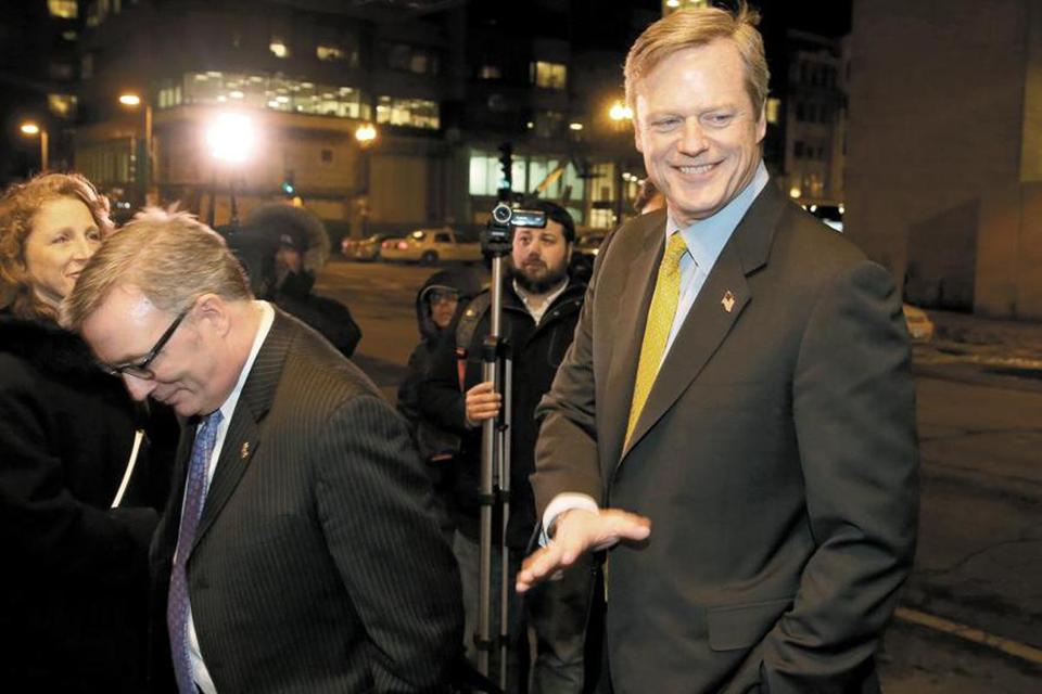 Charlie Baker will seek support at the Republican state party convention Saturday in Boston.