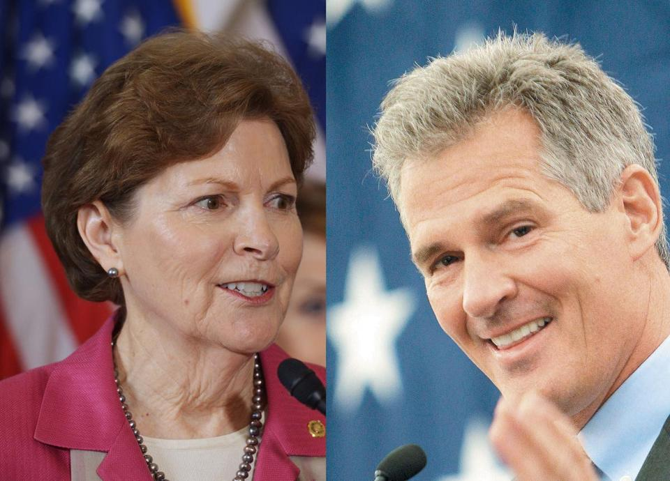 Jeanne Shaheen could face a challenge from Scott Brown for her Senate seat in New Hampshire.