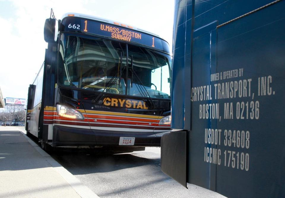 Crystal Transport is still operating service in-state, including between the JFK/UMass MBTA station and the University of Massachusetts Boston.