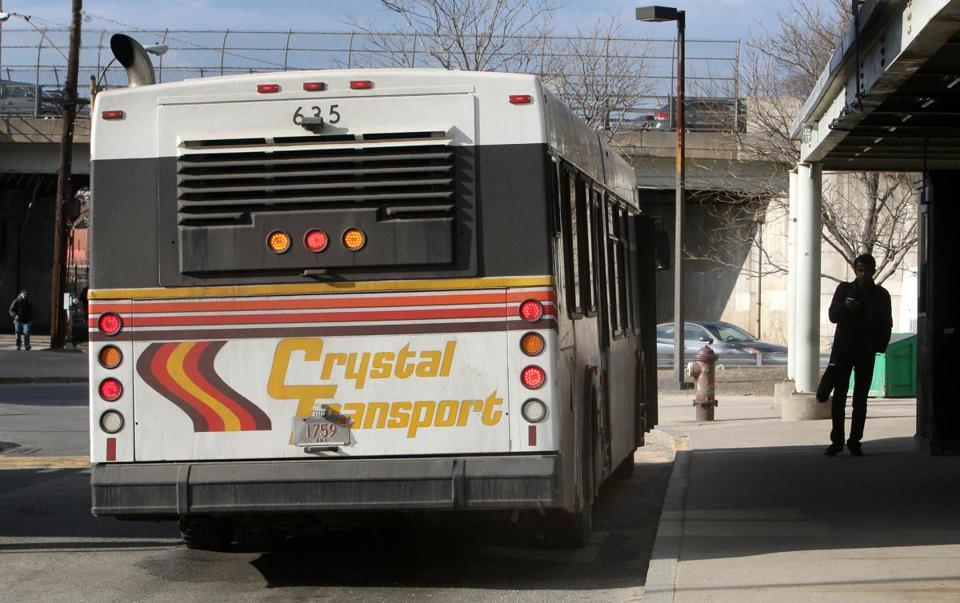 Crystal Transport shuttles thousands of students a day between the University of Massachusetts Boston and the JFK/UMass station.