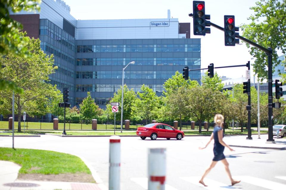 Biogen Idec, headquarters pictured above, will contribute $5.2 million to fund Whitehead-led  research projects.