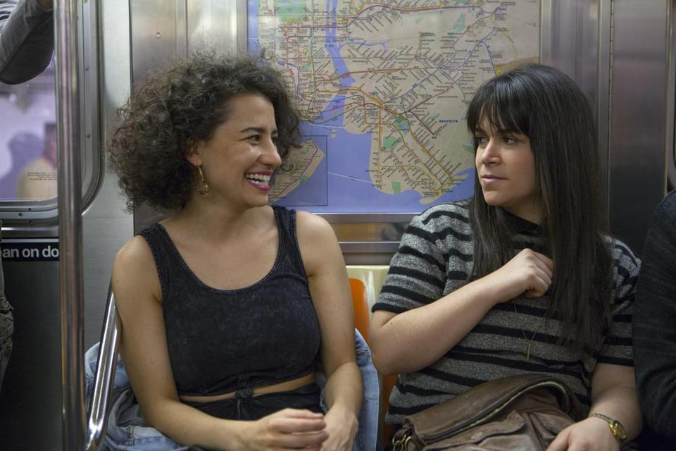 "Ilana Glazer (left) and Abbi Jacobson play best friends in Comedy Central's ""Broad City."""
